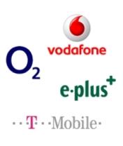 Alle Netzbetreiber Logos